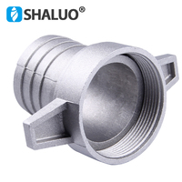 Gasoline water pump fittings 2 Inch aluminum pipe connecting wrench with rubber gasket pump connector pipe fitting 1