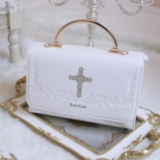 Фото готическая винтажная сумка в стиле милой лолиты с вышивкой крест цена