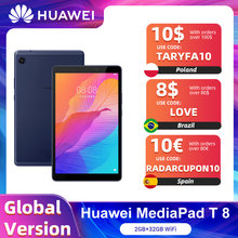 Globale Version HUAWEI MatePad T8 2GB 32GB WIFI Tablet PC 8,0 zoll faceunlock 5100mAh Unterstützung microSD Karte android10 T8 Keine Google