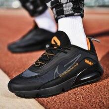 Super Cool Herren Sport Trainer Orange Schwarz Jugend Laufschuhe Atmungsaktive Gym Schuhe Für Herren Luxus Marke Walking Turnschuhe Mann