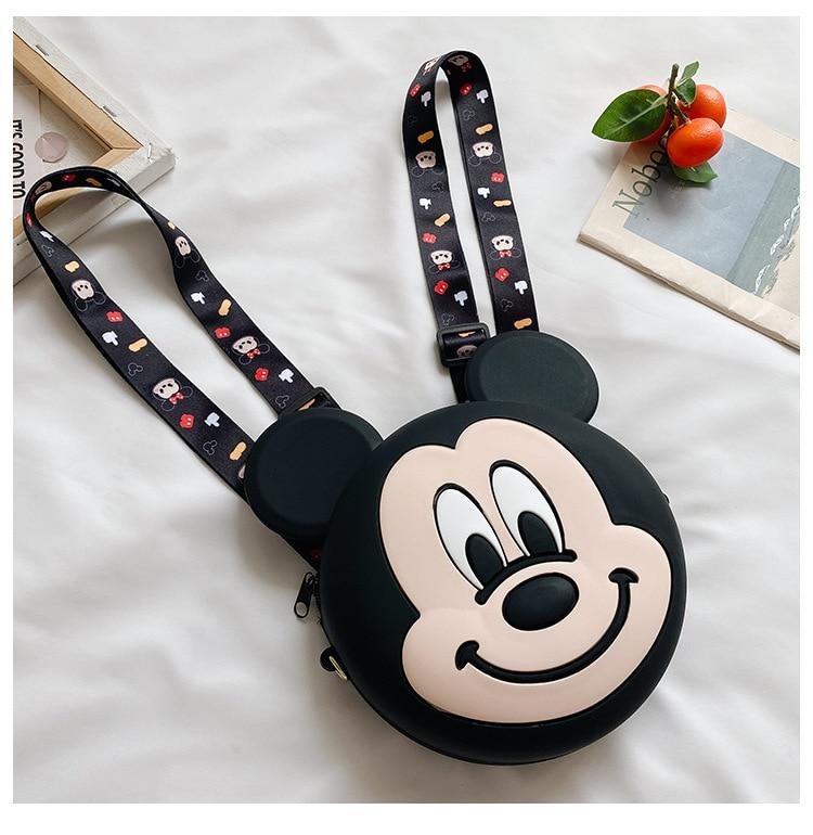 Disney crianças silicone mochila 2021 novo dos