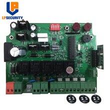 LPSECURITY 12V ゲートオープナー制御パネル PCB 用ダブルアームスイングゲートモーター