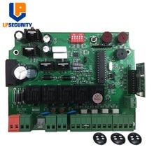 LPSECURITY panneau de commande ouvre porte 12V, carte mère PCB pour moteur à double bras de porte pivotante