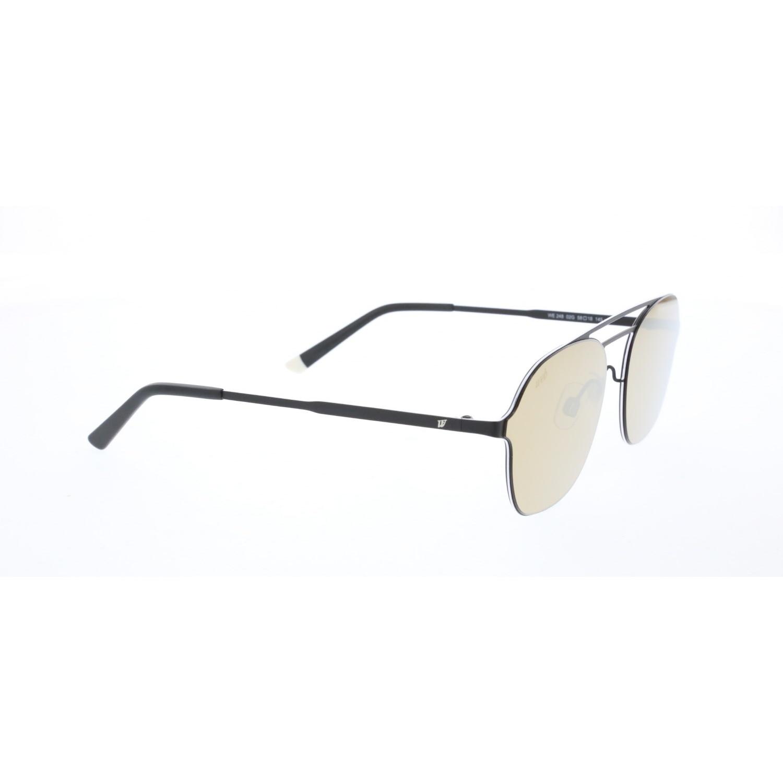 Men's sunglasses w 0248 02g metal black organic square square 58-18-145 web