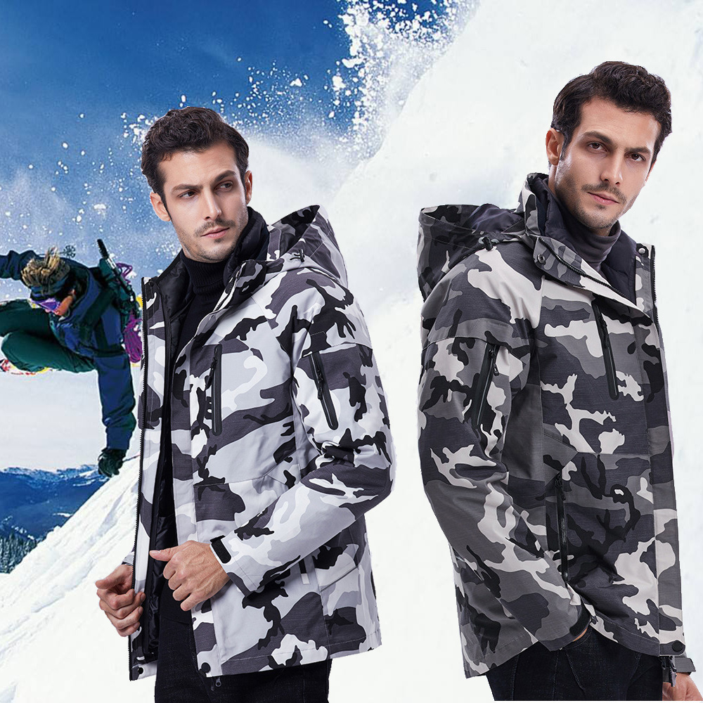 Winter Jacket For Men High Quality Thick Warm Snow Ski Jacket Men Outdoor Sports Waterproof Windproof Skiing Snowboard Jackets