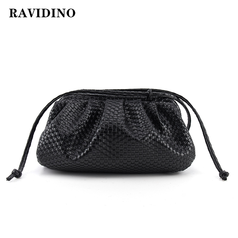 Women Bag Woven Bag Cloud Bag Soft Leather Madame Bag Single Shoulder Slant Dumpling Bag Handbag Day Clutches Bags Messenger Bag