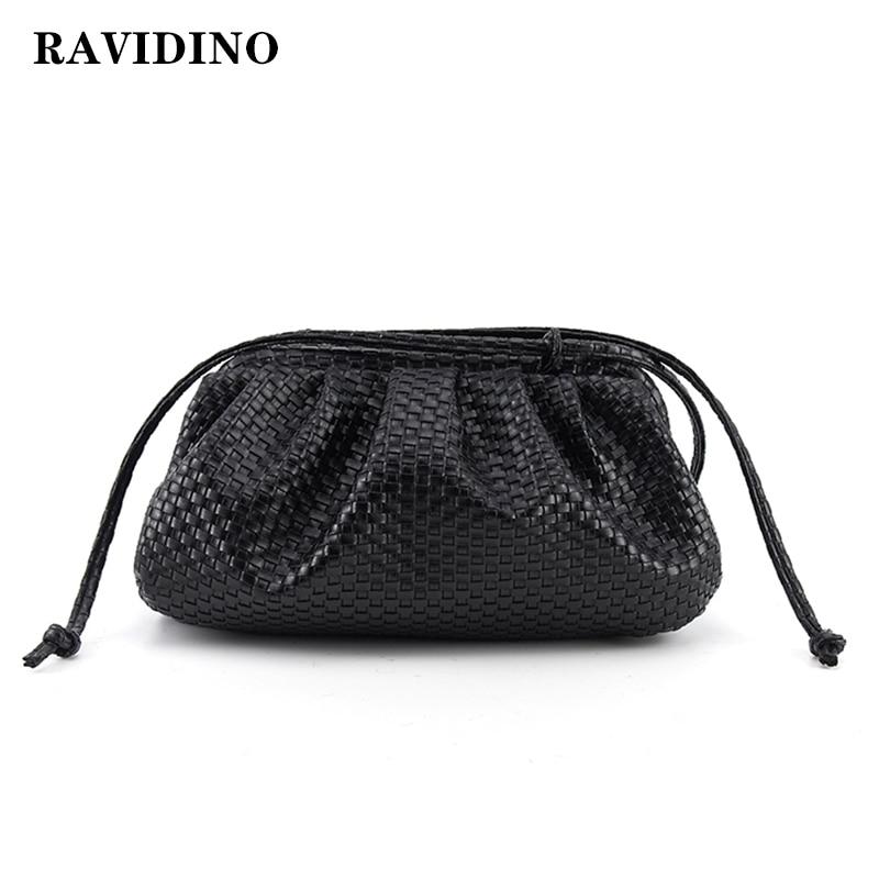 women bag woven bag Cloud bag Soft Leather Madame Bag Single Shoulder Slant Dumpling Bag Handbag Day Clutches bags Messenger Bag