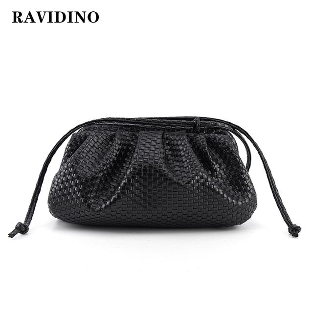 Woven Dumpling Clutch Bags/Shoulder Bags