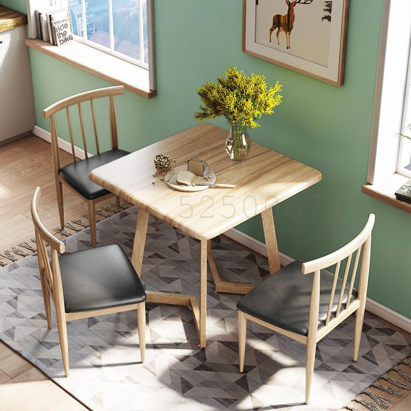 Dining Table And Chairs Simple Square