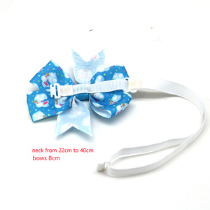 Image 2 - 50PC Cat Pet Dog Bow Tie Easter Pet Supplies Rabbit Pet Dog Puppy Bowties Neckties  Dog Grooming Accessories Pet Products