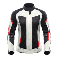 Motorcycle female jacket motobike riding jacket windproof protective armor clothing For Yamaha YZF R6 YZF R1 R6 FZ1 FAZER R6S