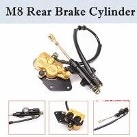 Rear Hydraulic Disc Brake Caliper Master Cylinder for Kawasaki ATV QUAD Buggy 50 70 90 110 125CC ATV DIRT BIKE CRF