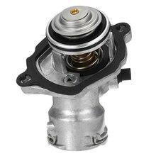 Термостат охлаждающей жидкости двигателя W/датчик и прокладка для Mercedes Benz C280 C300 Slk300
