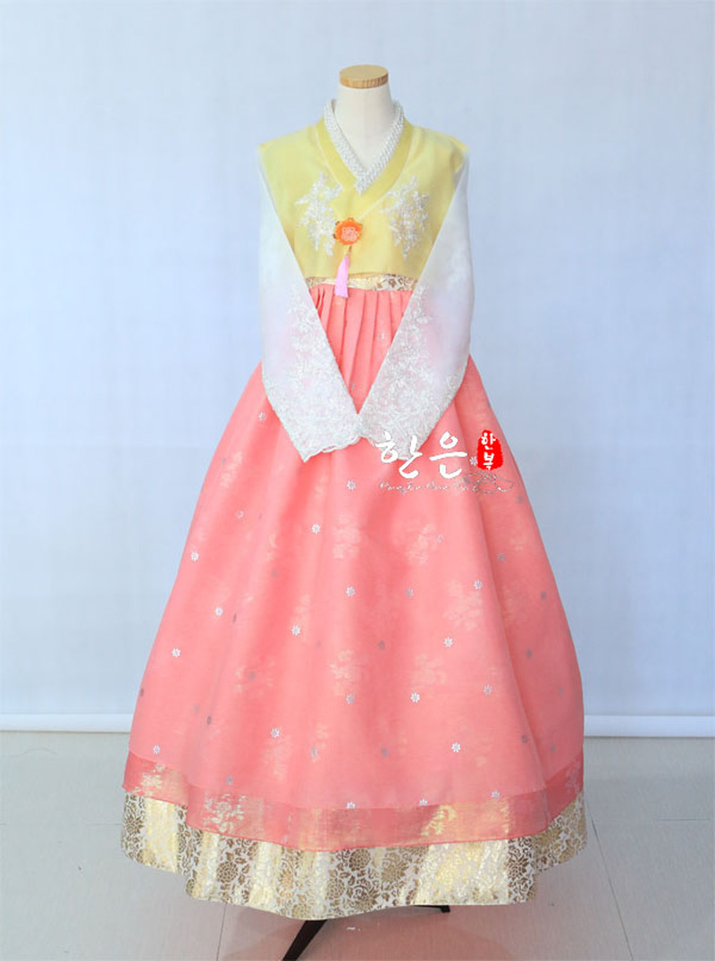 Korean Imported Fabric / Latest Improved Hanbok / Bride Hanbok / Stage Costume