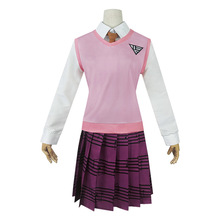 HISTOYE Cosplay Costume The Danganronpa V3 Killing Harmony Akamatsu kaede Clothing for Women Halloween Party