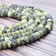 Natural Yellow Pine Gem 5x8x4x6MM Abacus Bead Spacer Bead Wheel Bead Accessory For Jewelry Making Diy Bracelet Necklace