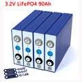 Liitokala 3.2V 90Ah batterie LiFePO4 Lithium phospha grande capacité 12V 24V 48V 90000mAh moto électrique voiture moteur batteries