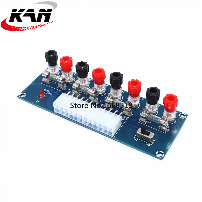 XH-M229 Desktop Chassis Power Supply ATX Adapter Board Takeout Board Outlet Module Power Supply Output Terminal Module