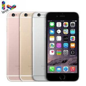 Разблокированный мобильный телефон Apple iPhone 6S, 4G, 4,7 дюйма, 2 Гб ОЗУ, оригинальный iOS 16, 32, 64, 128 Гб ПЗУ, Bluetooth, двухъядерный, сканер отпечатка пальц...