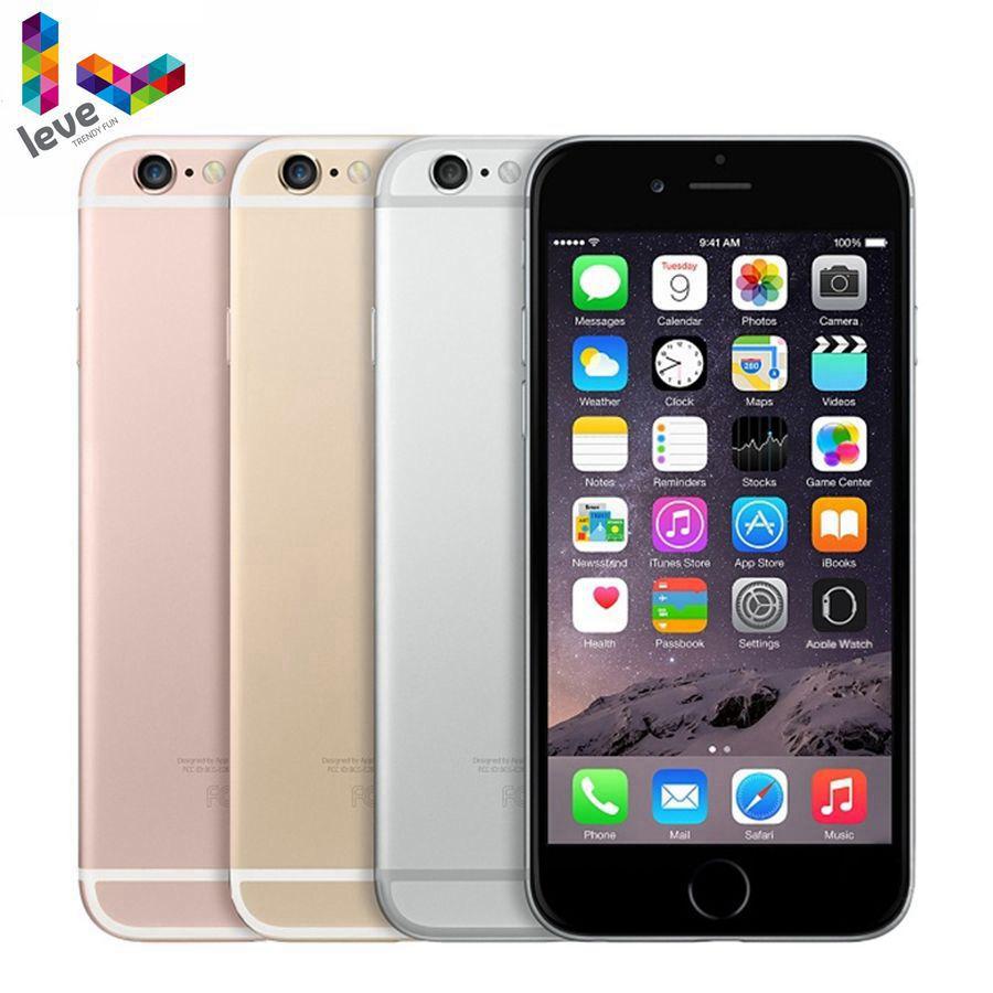 "Unlocked Apple iPhone 6S 4G 4.7"" 2GB RAM 16&32&64&128GB ROM Bluetooth Dual Core Fingerprint LTE Original Mobile phone"