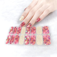2021 New Arrival Patterned Full Cover Nail Art Stickers Self Adhesive Decorated Nail Tape Special Simple Nails Accessories