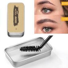 Kit de maquillage pour les sourcils, Gel 3D, imperméable, tenue longue durée, teinte, pommade, cosmétiques, 1 pièces