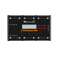 RCHARLANCE S7 CELL CHARGER MINI 1S Battery Charger 6x4.35W LiPO/LiHV Battery Charger W/ Micro MX mCPX For RC Drone Helicopter