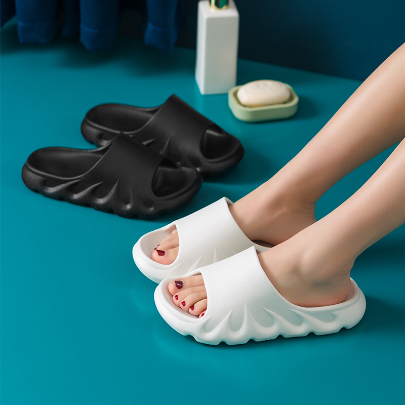 Flames Slippers Soft Cool Fashion Bathroom Beach for Men and Women &T8