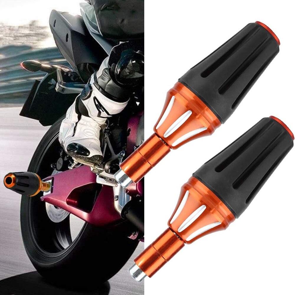 Универсальный ползунок 8 мм для мотоцикла M8, 2 шт., защита от падения, защита двигателя