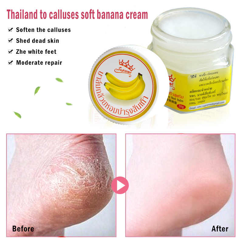2019 Hot Sell Foot Crack Cream Heel Chapped Peeling Foot Repair Anti Dry Crack Remove Dead Skin Soften Feet Care Cream TSLM1