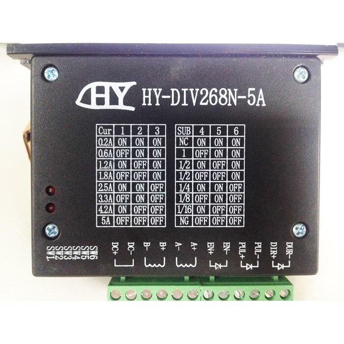 Stepper Motor Driver Controller TB6600 0.2-5A CNC Engraving Machine HY DIV268N 5A