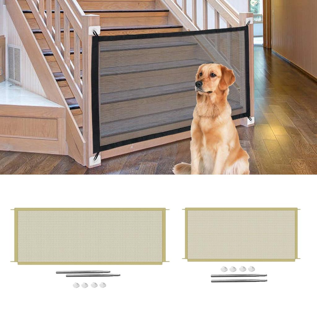 Оригинальный сетчатый забор для собак внутреннего использования