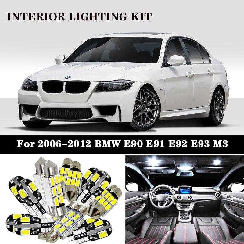 BMW E88 INTERIOR LED White Lights Bulbs Conversion UPGRADE SET Kit Canbus