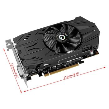 Graphics Card RX560D 4GB GDDR5 128Bit PCI Express 3.0 DirectX12 Video Card for Rx560 Chip Image Card Game Accessories