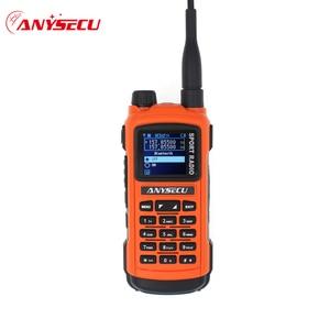 Image 1 - Anysecu AC 580 บลูทูธWalkie Talkie ProfessionalกีฬาวิทยุVHF 136 174MHz UHF 400 520MHz 5WสถานีวิทยุGP8800