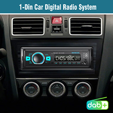 1 DinรถนำทางวิทยุสเตอริโอรถวิทยุดิจิตอลระบบBT,เครื่องเสียงรถยนต์in Dash FM/DAB/DAB +/FM