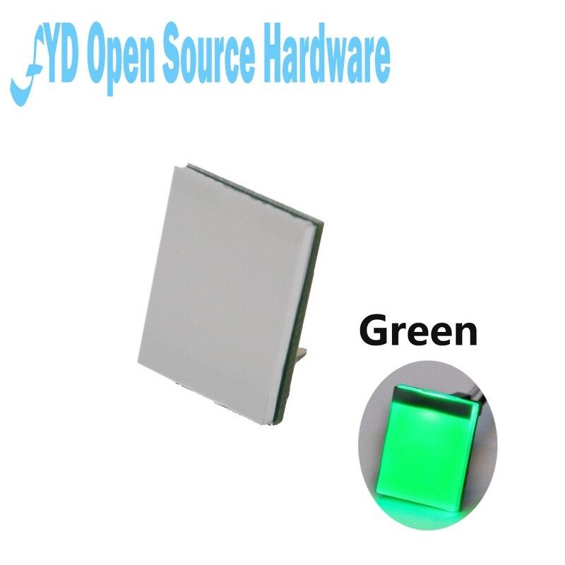 1 шт. зеленый цвет серии HTTM 2,7 V-6V емкостный сенсорный переключатель модуль сильный анти-помех