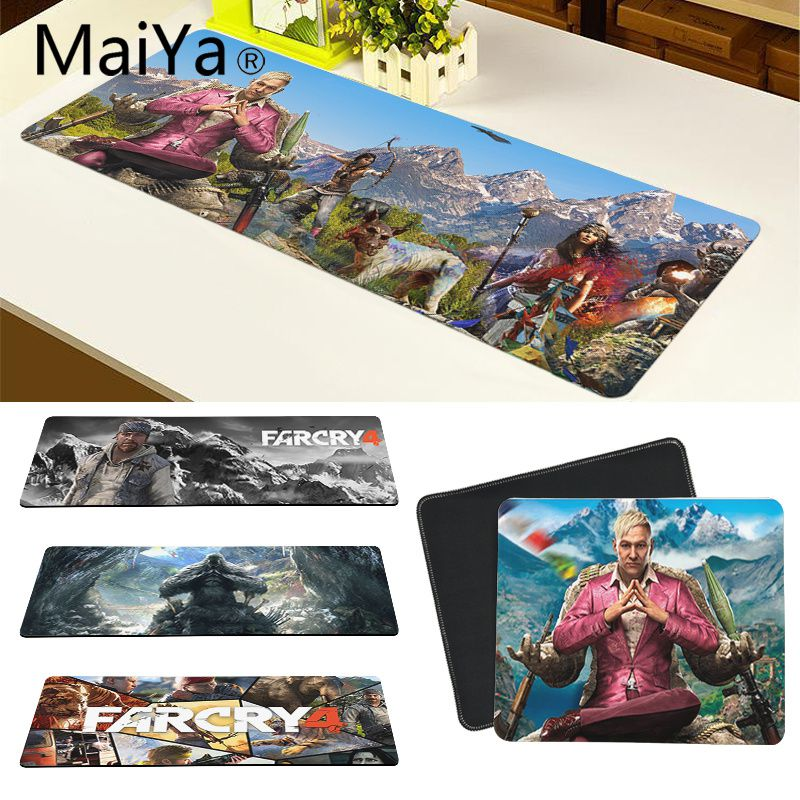 Maiya Top Quality Far Cry 4 Silicone large/small Pad to Mouse Game Free Shipping Large Mouse Pad Keyboards Mat image
