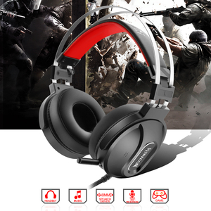Image 2 - Redragon LADON H990 GAMING HEADSET 7.1 USB Surround PRO Wired Computer Headsets Earphones With Microphone for MAC PC Laptop PS4