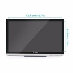 """Image 2 - Графический планшет Huion GT220 v2, профессиональный монитор для рисования 21,5 """"HD IPS Pen Display 8192, ручка с давлением, художественная анимация с подарками"""