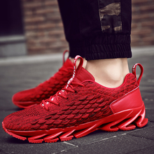 Damyuan 2019 Autumn Mens Blade Casual Shoes Sports Running for Man Mesh Sneakers Male Plus Size 46 Zapatos De Hombre