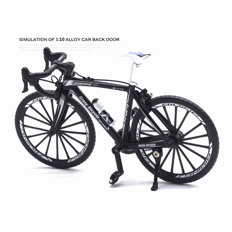 JASON TUTU 1:10 Scale Diecast Metal Model Bicycle Toys Children Gift Racing Cycle Cross Mountain Bike Model Replica Collection