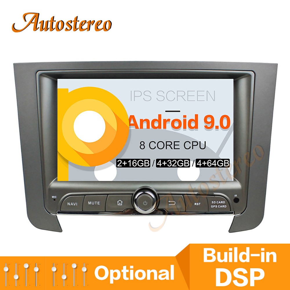 Android 9.0 PX5/PX6 Car CD DVD Player GPS Navigation For Ssangyong REXTON 2014-2017 Auto Radio Head Unit Multimedia Player DSP image
