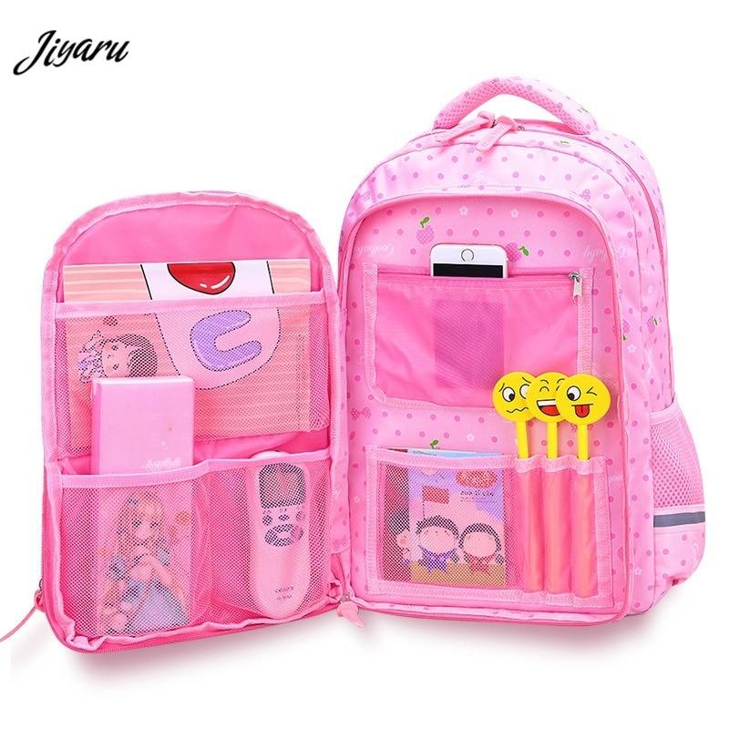 2019 New Children School Bags Orthopaedics Schoolbags Waterproof School Backpacks For Kids Teenagers Girls Backpack Mochila