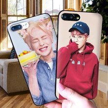 Soft Silicone Phone Case For iPhone XR Case For TPU iPhone 5 5SE 6 6S 7 Plus 8Plus XS X Xr XS Max 9 Coque EXO xiumin(China)