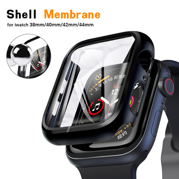 цена на Cover For Apple watch case 4 5 44mm 40mm 42mm 38mm Iwatch series apple watch 4 3 2 1 Accessories bumper protective shell frame