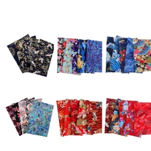 30pcs/set DIY 20x25cm Mixed Pattern Cotton Fabric, Japanese Style Fabric Materials for Sewing Quilting Patchworks Crafts