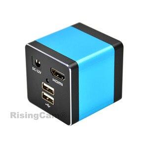 Image 5 - HD 1080p 60fps HDMI إخراج سوني imx335 الاستشعار محرك أقراص USB تخزين HDMI كاميرا مجهَّزة بميكروسكوب رقمي مع القياس