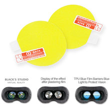 2 Stuks Clear Accessoires Hd Duurzaam Eye Beschermende Ultra Dunne Lens Film Vr Helm Tpu Anti Scratch For A Valve Index