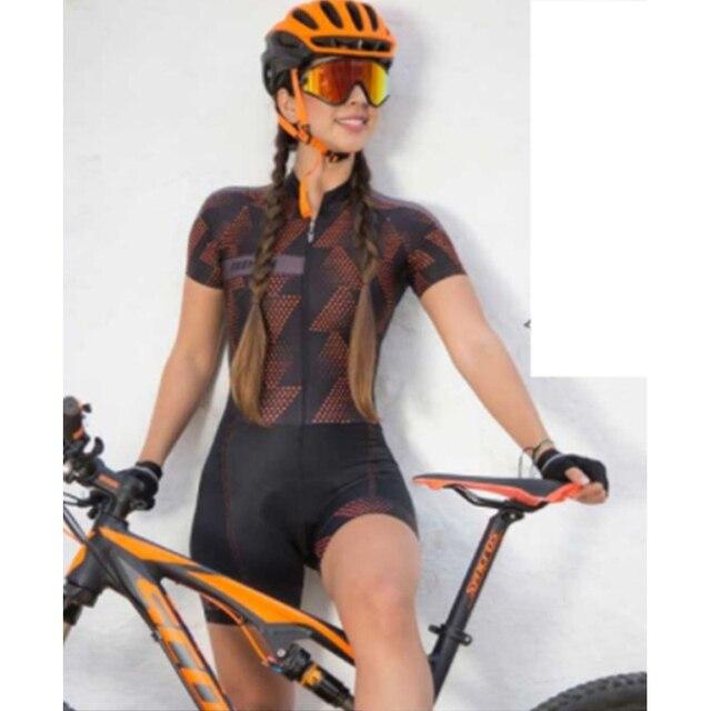 2020 pro equipe triathlon terno das mulheres ciclismo camisa skinsuit macacão maillot ciclismo ropa ciclismo conjunto de manga curta gel almofada roupas com frete gratis conjunto feminino ciclismo ciclismo feminino 2